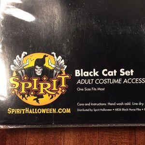 Spirit Other - Spirits black cat set includes headband, tail.